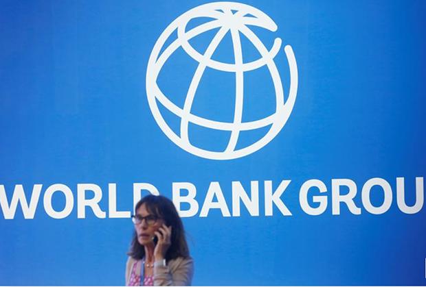 世界銀行標誌(路透社圖片)