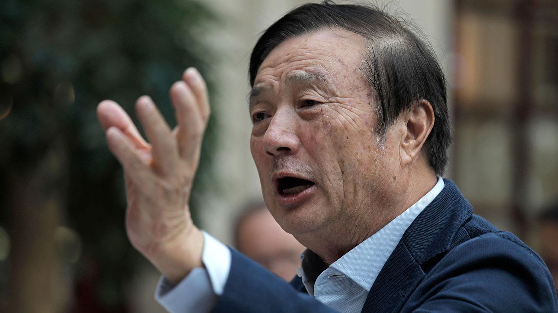 中国电讯设备商华为创办人任正非。(美联社)
