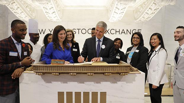 资料图片:2019年5月29日开盘前的美国纽约证券交易所(美联社)