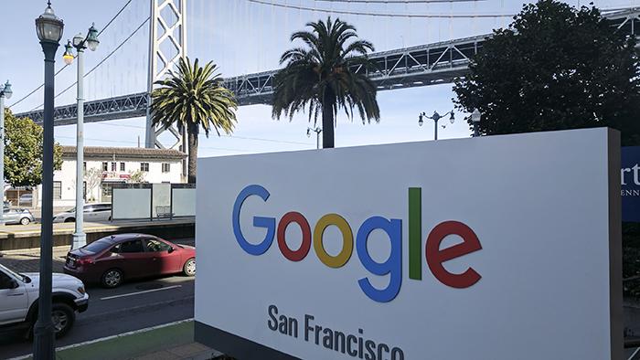 谷歌公司的美国旧金山办公楼(美联社)