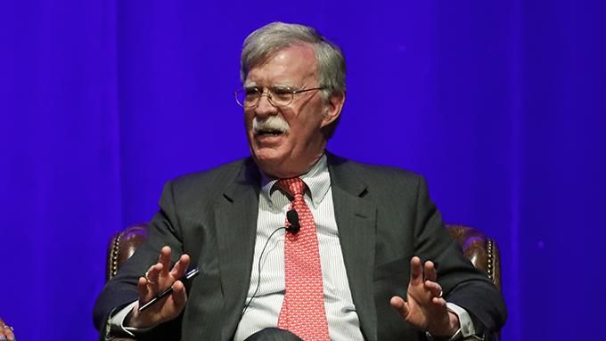 美国前国家安全顾问博尔顿(John Bolton)(美联社)