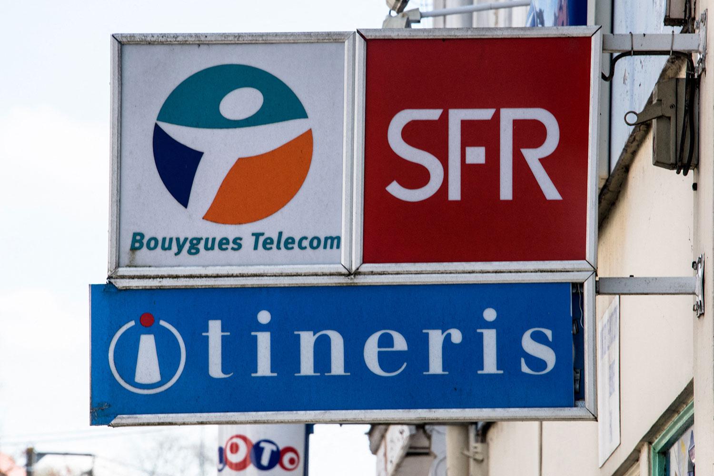 """法国宪法委员会批准""""反华为法"""",迫使两大电信运营商(SFR和Bouygues)将拆除已经安装的华为5G移动网络天线。(法新社资料图片)"""