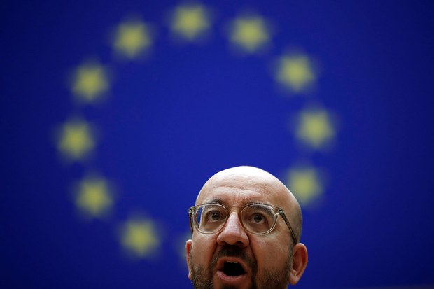 欧洲理事会主席米歇尔(photo:RFA)