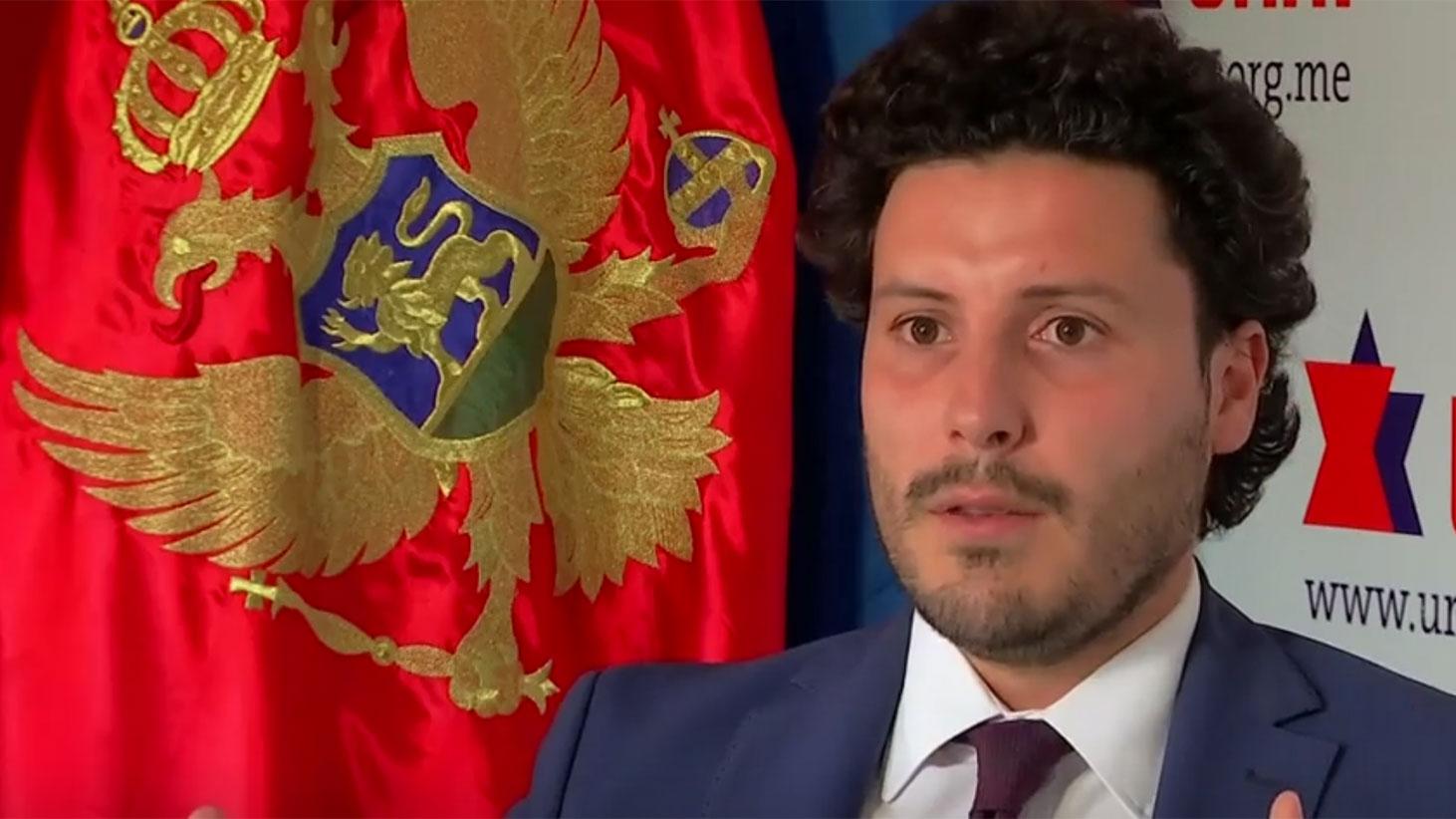 黑山副总理阿巴索维奇(Dritan Abazovic)表示,为了防止准欧盟成员国对北京的倚赖,欧盟应该帮助黑山重组债务。(路透社视频截图)