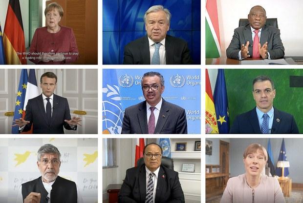 世卫大会开幕  多国呼吁独立调查疫情大流行起源