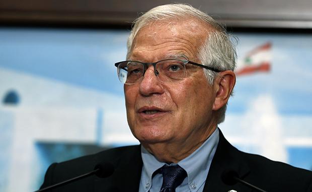 欧盟外交与安全政策高级代表博雷利(Josep Borrell)(美联社)