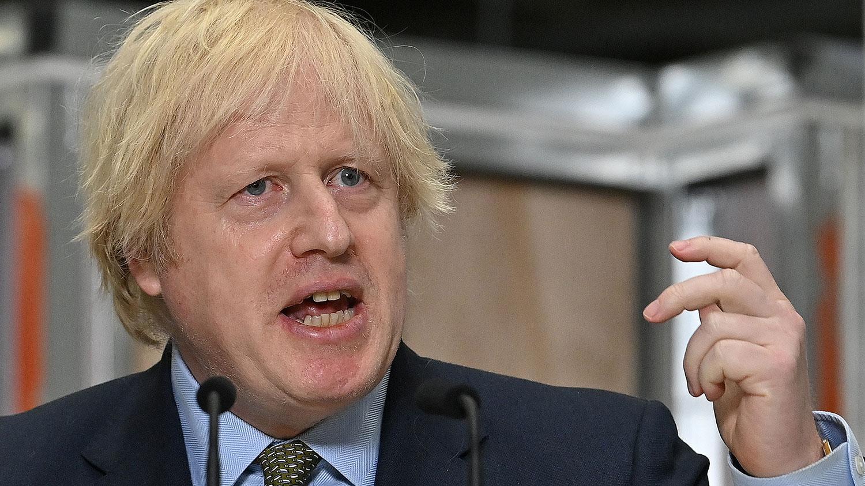 英国首相约翰逊(Boris Johnson)将做出重大政策调整,禁止英国 5G 网路採用华为设备。(路透社)