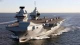 英国伊丽莎白女王号航母打击群驶入亚洲 现身南海边缘
