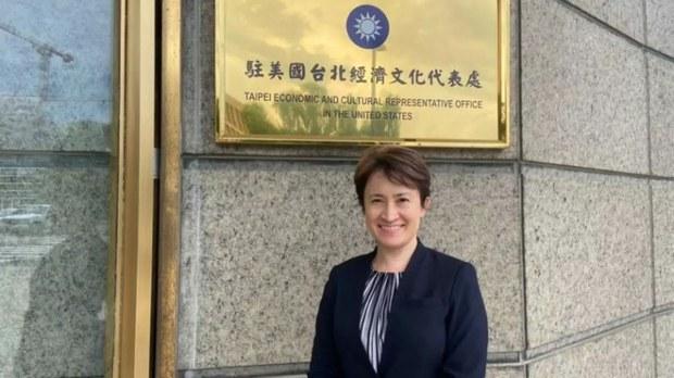 台灣駐美國代表蕭美琴(台灣外交部資料圖)