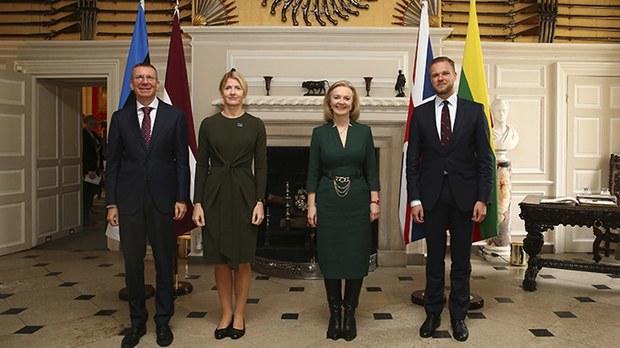 英国与波罗的海三国强化合作 应对中俄