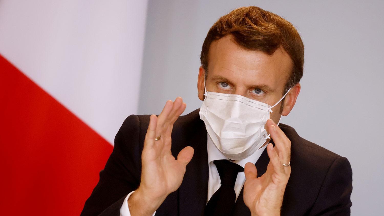 """法國總統馬克龍近日在接受媒體訪問時,就疫苗的""""世界公共資產""""概念質疑中國參與""""全球冠病疫苗保障機制""""(COVAX)的程度。(路透社)"""