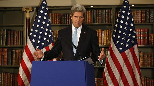 美国拜登政府气候变化特使约翰·克里(John Kerry)4月14日访问中国(美联社)