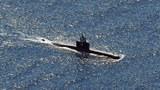 航行中的一艘印尼潛艇