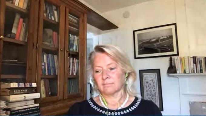 美国国务院主管东亚事务的前助理国务卿董云裳(Susan Thornton)(视频截图)