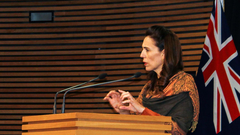 """应邀出席今年博鳌亚洲论坛年会的包括韩国,新加坡和一些发展中国家。而新西兰总理阿德恩(图)是唯一出席的""""五眼联盟""""成员国领袖。(路透社图片)"""