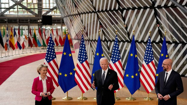 """美欧解决贸易争端   携手对抗中国""""非市场惯例"""""""