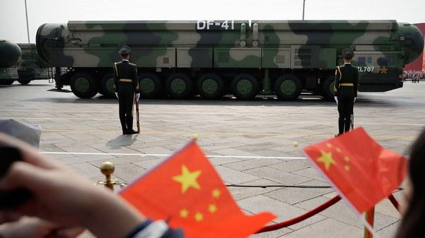 美报告: 解放军中短程导弹射程大增   新型号可装核弹头