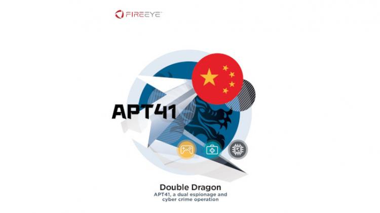 据信被称为APT41的中国黑客组织受到了政府的支持(FireEye)