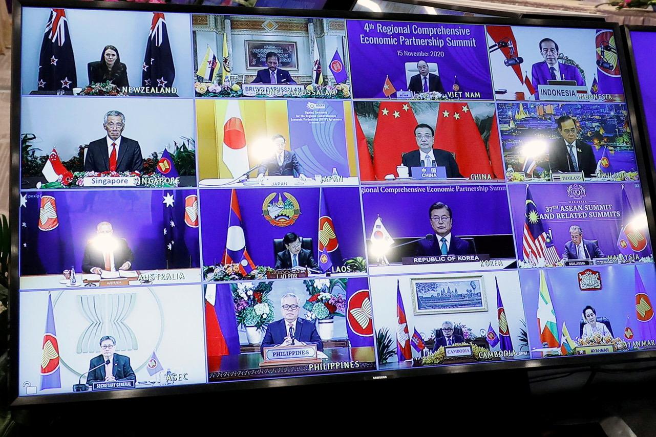 2020年11月16日东协峰会(路透社)