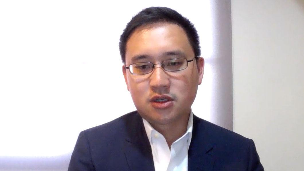 前台湾驻美代表处政治组组长赵怡翔。(RFA)