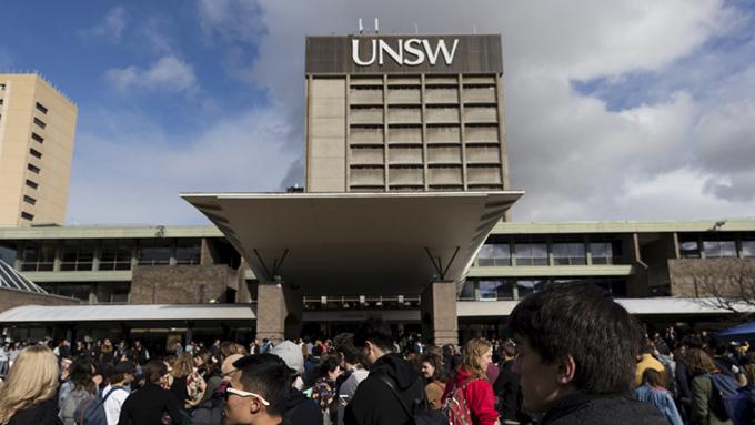 澳大利亚新南威尔士大学一景(Public  Domain)