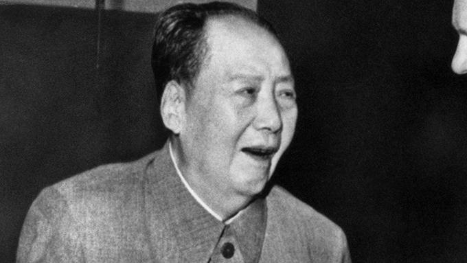 晚年的中国领导人毛泽东(美联社)