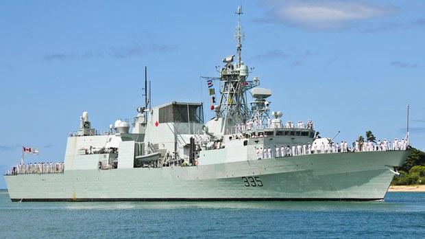 加拿大军舰行经南海  中方表达不满
