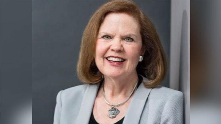 渥太华大学教授玛格丽特·麦凯格-约翰斯顿(Margaret McCuaig-Johnston)。(推特图片/Margaret McCuaig-Johnston @M_Johnston1)
