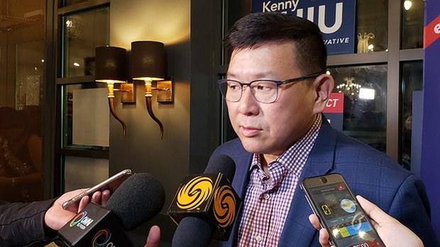 加拿大国会议员赵锦荣(Kenny Chiu)在四月份提出了《外国影响注册法》(RFA资料图/记者柳飞拍摄)