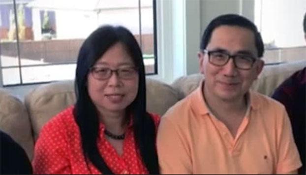 加拿大情报部门带走华裔病毒学家邱香果夫妇(网络视频截图)