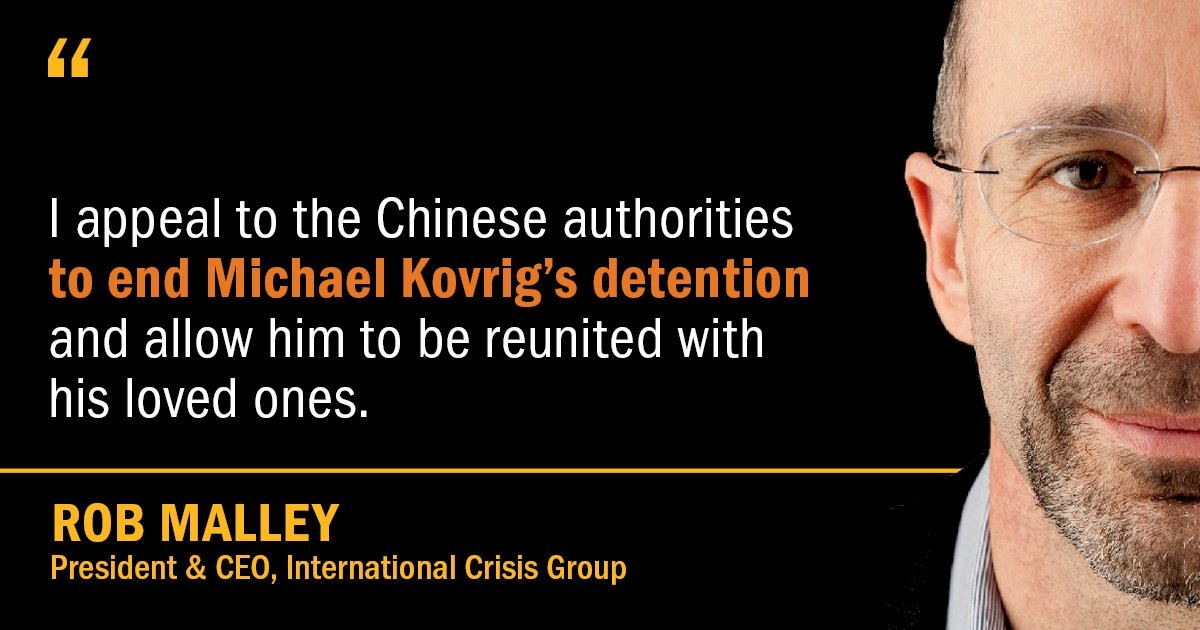 国际危机组织的呼吁,加拿大外交部随后也表示感谢。(网路图片)