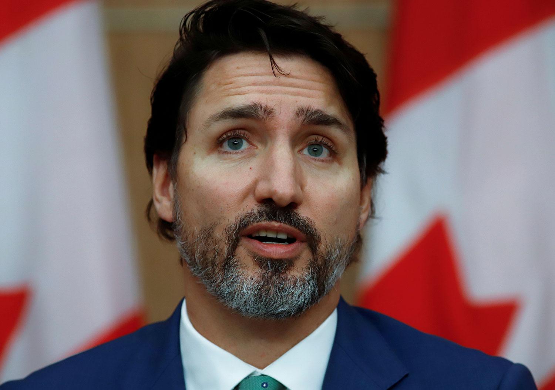 加拿大总理特鲁多称,会不会禁止华为将听从安全机构的建议。(路透社)