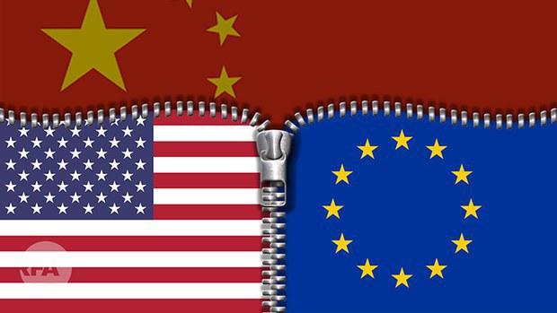 中欧即将达成投资协议 美、中、欧关系添变数(photo:RFA)