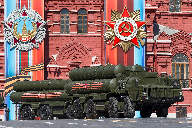 俄罗斯S-400导弹(美联社)