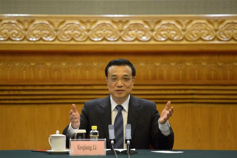 图片:中国国务院总理李克强。(法新社资料图)