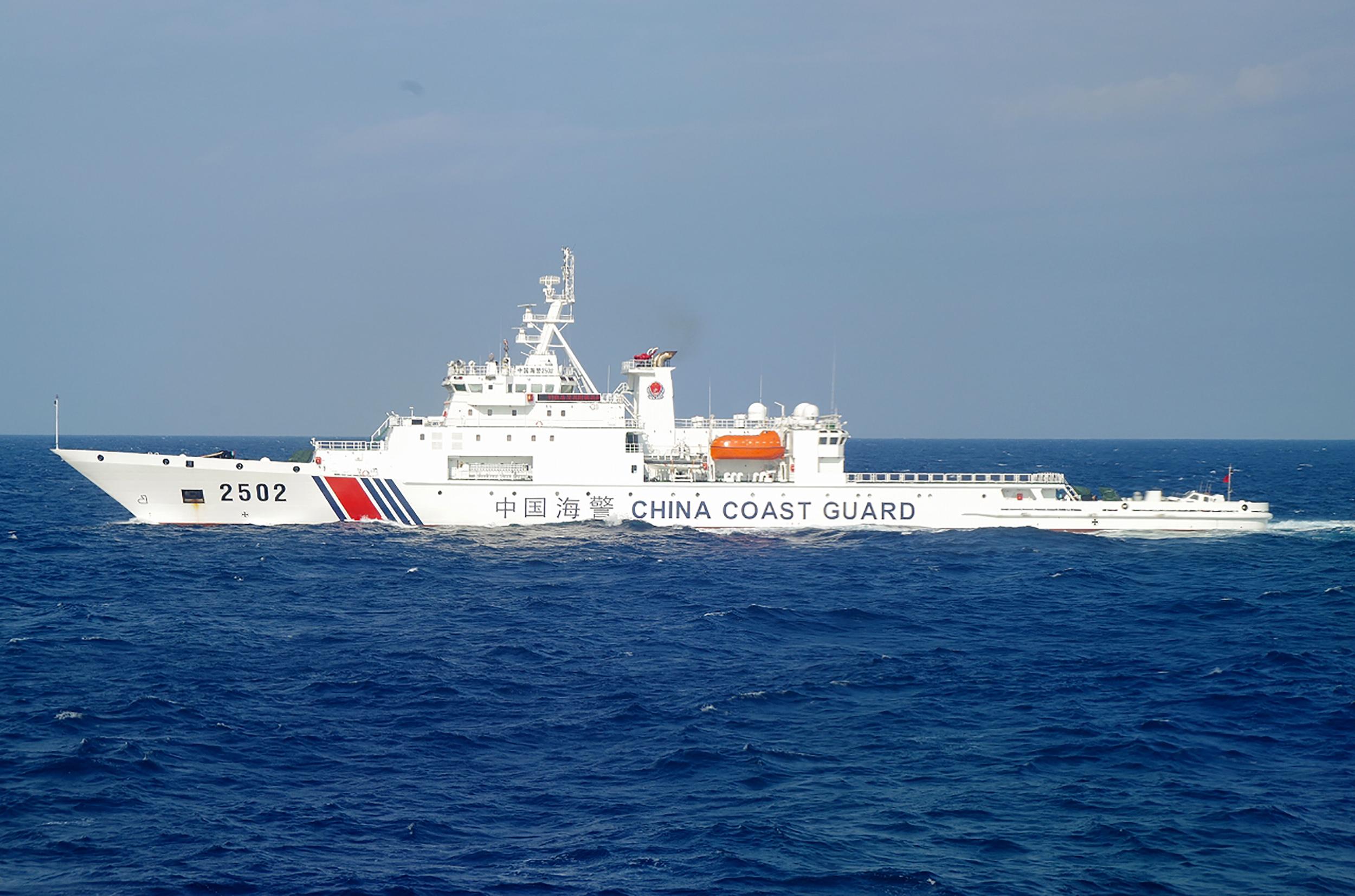 2012年9月11号,当时的日本野田政权将尖阁诸岛(中国称钓鱼岛)收归国有。其后,中国政府海警局船只反复驶入尖阁诸岛周边日本领海。(南洲提供)