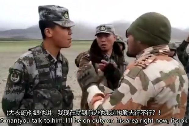 中印边境冲突八个月后       中国承认四名解放军阵亡