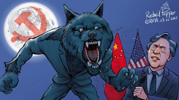 中国战狼满世界咆啸  重回文革变国际孤狼?