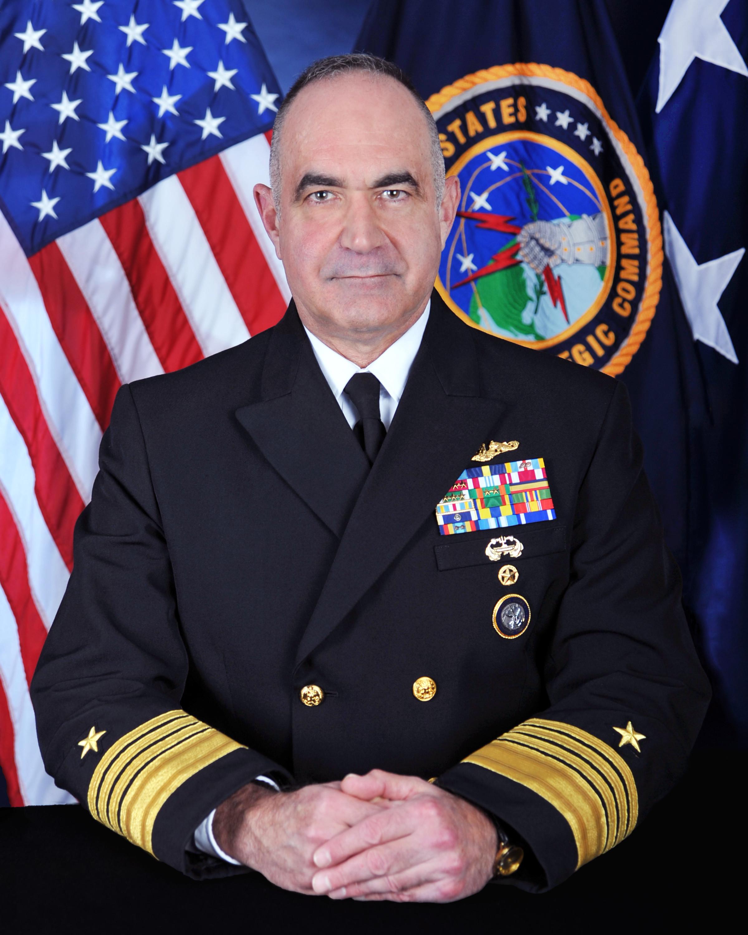 美国战略司令部(USSTRATCOM)司令、海军上将理查德。(USSTRATCOM)