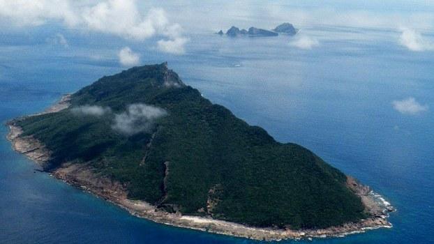 存在领土争议的钓鱼岛(日本称尖阁列岛)。中国已在钓鱼岛周边的东海水域命名五十个海底地理实体。(法新社)