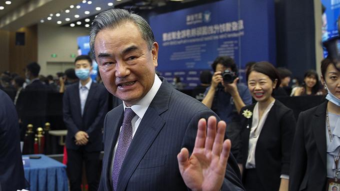 中国外交部长王毅(美联社)
