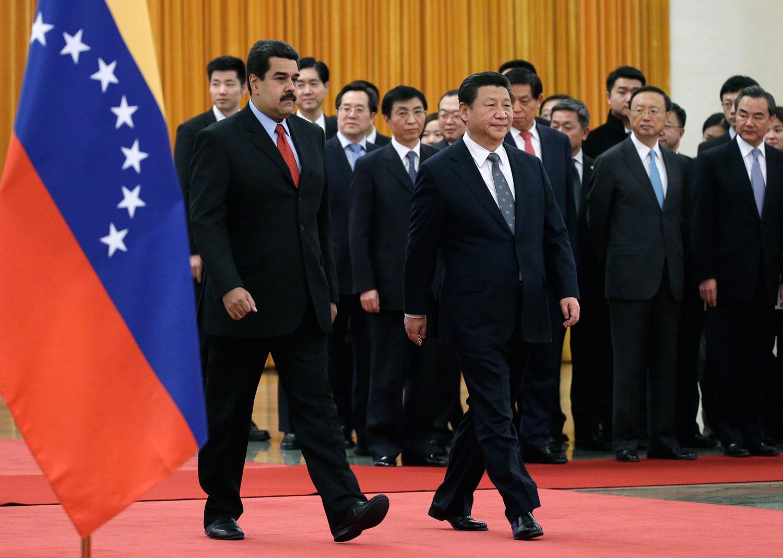 "Image result for ä¸-国坚å†3æ""ˉ持委内瑞拉马杜罗"