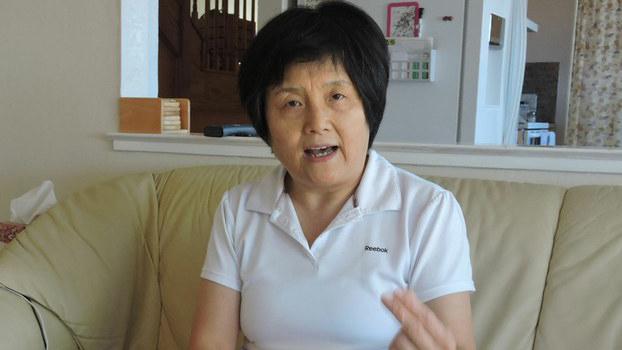 中共元老李锐的女儿李南央(资料图/RFA)