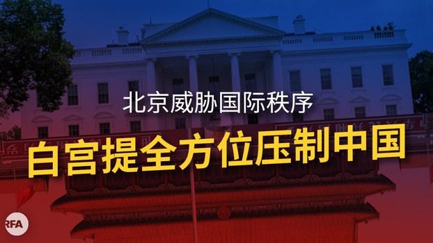 美国白宫发表报告提出多项措施压制中国扩张(自由亚洲电台制图)
