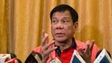 菲律賓總統杜特爾特。(法新社)