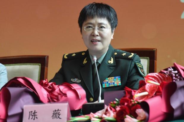 參與中國研發新冠疫苗的陳薇  (網絡圖片)