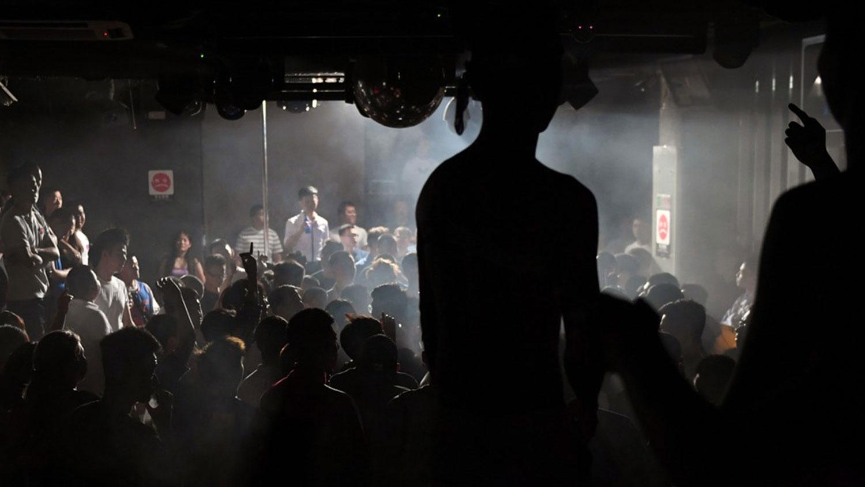 图为北京的一家同性恋酒吧。(法新社)