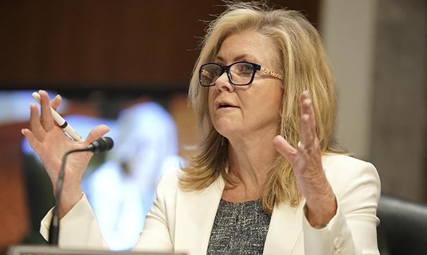 关注孔子学院在美国发展的联邦参议员布莱克本(Marsha Blackburn)(美联社)
