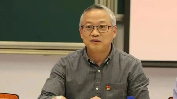 被刺杀的上海复旦大学数学学院党委书记王永珍(上海市杨浦区政府官网)