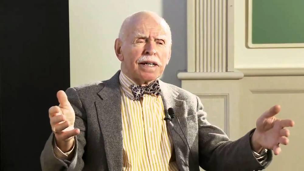 纽约大学教授孔杰荣(Jerome A. Cohen)。(视频截图)